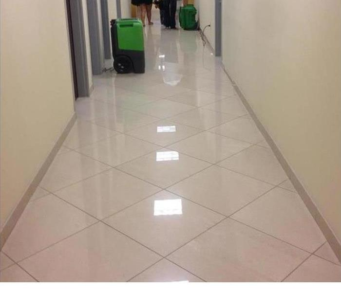 Commercial Water Loss at Medical Office Before