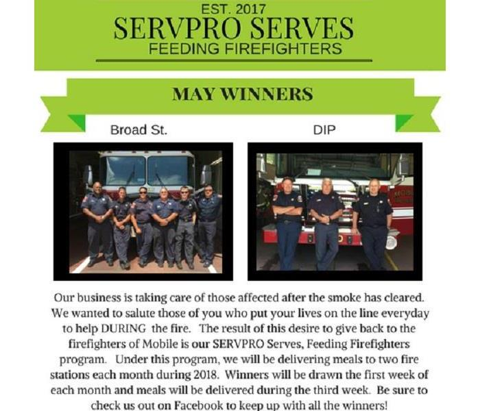 SERVPRO SERVES Mobile Fire and Rescue in Mobile, AL
