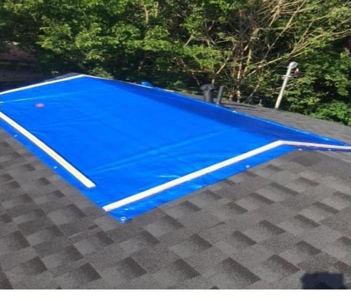 Did you Know SERVPRO Tarps Roofs?