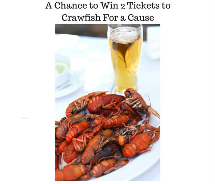 Community Crawfish for a Cause Ticket Contest